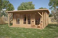 Дом деревянный из профилированного бруса 5х5. Скидка на домокомплекты на 2020 год