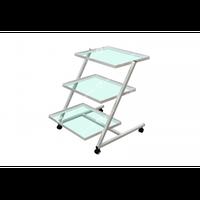Столик приборный СП (стекло), стол приборный медицинский
