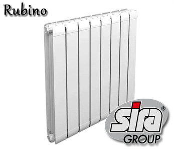 Алюминиевый радиатор Sira Rubino 500/100