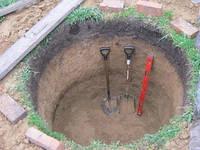 Копаем колодцы в Киевской области,колодец на дачу,выкопать новый колодец,