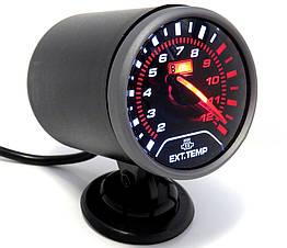 Температура выхлопных газов стрелочный Ket Gauge 6608 черный в корпусе Ø60мм прибор датчик автомобильный