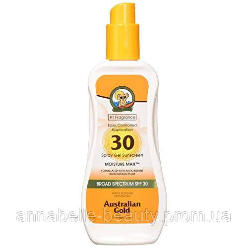 Australian Gold SPF 30 Spray gel - Спрей гель с фактором защиты 30  237 мл