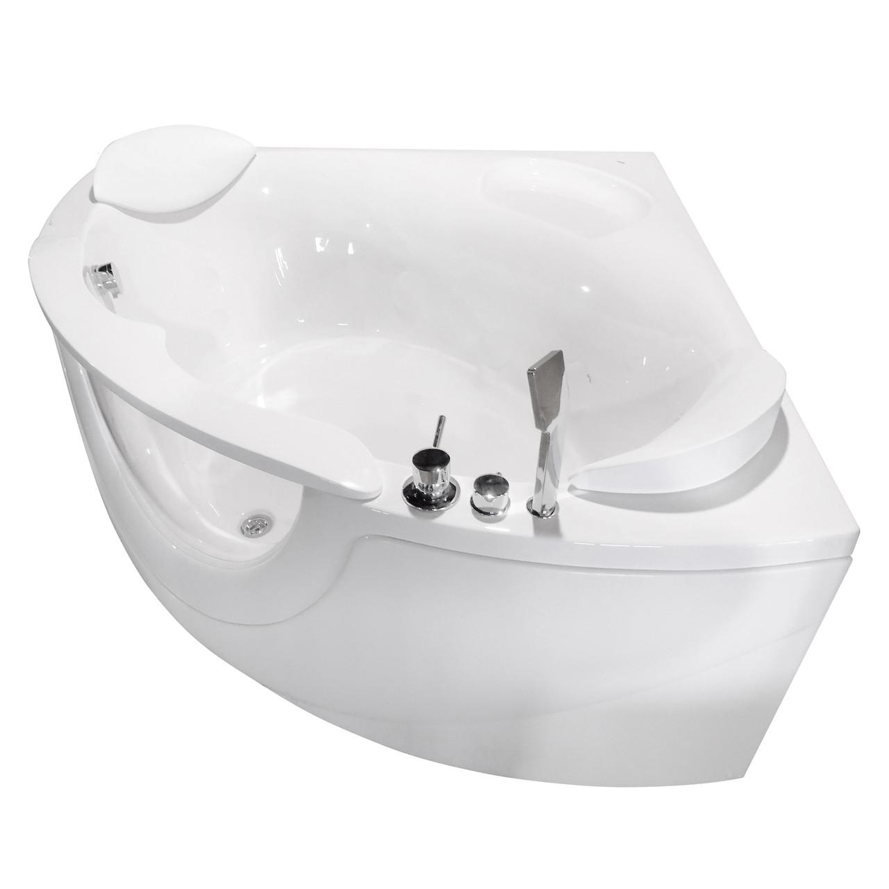 Ванна акриловая VOLLE  со смесителем, сифоном и подголовниками