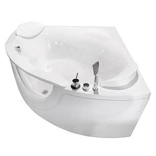 Ванна акриловая VOLLE  со смесителем, сифоном и подголовниками, фото 2