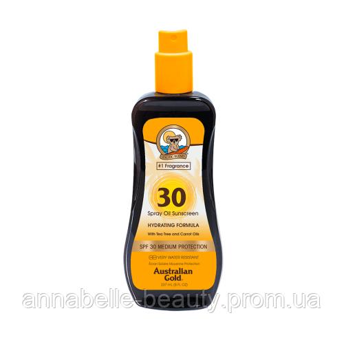 Australian Gold SPF 30 Spray Oil - Масло для загара на солнце c фактором защиты 30 237мл