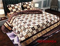 """Евро макси набор постельного белья 200*220 из Бязи """"Gold"""" №15143 Черешенка™"""