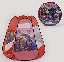 """Детская палатка в сумке """"Трансформеры"""". 120×110см"""