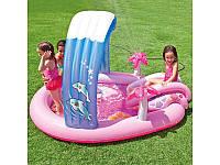 Надувной игровой центр - бассейн Hello Kitty 57137 Intex