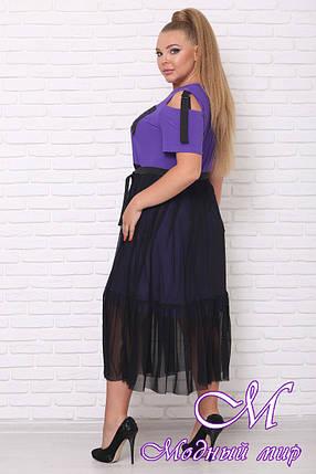 Летнее женское платье больших размеров (р. 42-90) арт. London, фото 2