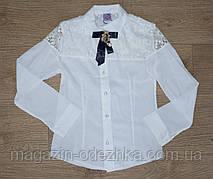 Блузка школьная оптом 28-36 р-р