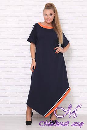 Свободное летнее платье большие размеры (р. 42-90) арт. Casual, фото 2