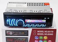 Автомагнитола 8506D съемная панель RGB мульти подсветка Usb Fm Aux