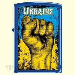 Запальничка Zippo 229 UF Ukraine Fist