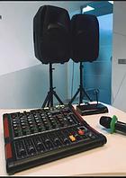 Комплект  активної акустики NGS PMQ15A 800W