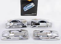 Евро ручки Ваз 2110, 2111, 2112, 2170, 2172 наружные дверные ручки \ хром, зеркальные