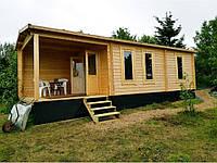 Дом деревянный из профилированного бруса 9х3. Скидка на домокомплекты на 2020 год