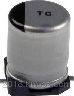 Конденсатор электролитический, SMD C-EL 220uF 25V SMD//EEV-TG1E221P (Panasonic)