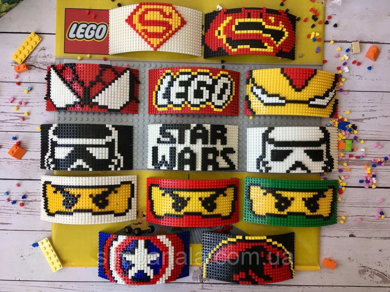 Логотипы к кепки-конструктор для Lego