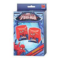 Нарукавник Спайдермен (Человек паук) детский для плавания 3-6 лет, надувной нарукавник безопасности bestway, 9