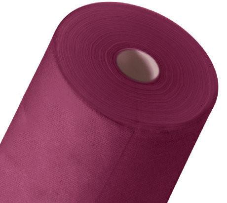 Одноразовая простынь в рулоне Спанбонд Polix PRO&MED 25 г/м² 0,6x500 м 10 УП 10 ШТ Рубиновая