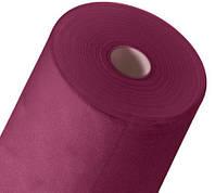 Одноразовая простынь в рулоне Спанбонд Polix PRO&MED 25 г/м² 0,6x500 м 10 УП 10 ШТ Рубиновая, фото 1