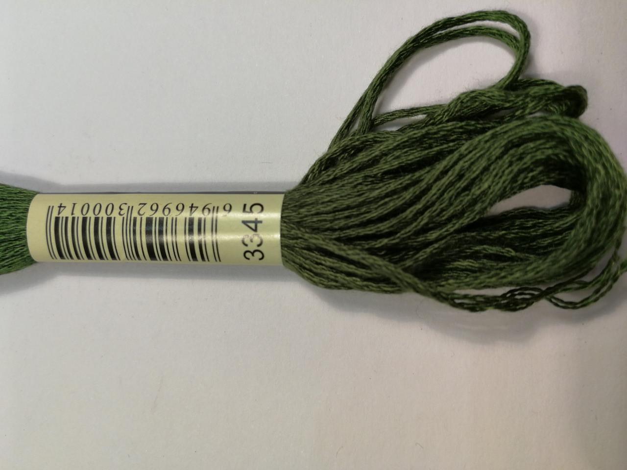 Мулине СХС 3345 защитный темный