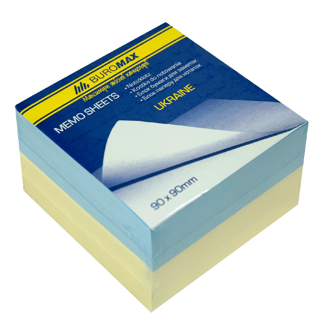 "Блок бумаги ""Украина"" 90х90х60 мм, склеенный"