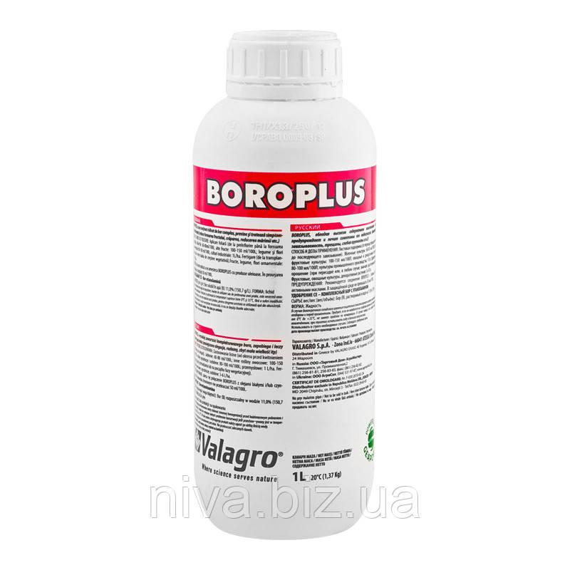Бороплюс (Boroplus) рідке добриво на основі органічного з'єднання бору Valagro 1 л