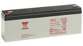 Акумулятор YUASA NP2,3-12