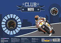 "Подложка A3 CFS 69001-05 69000-05 для детского творчества, ""Funny cats, Moto club"" пластик"