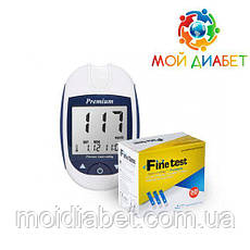 Глюкометр Finetest Premium + 50 тест-смужок