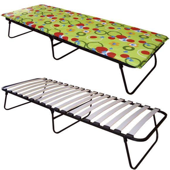 Раскладная кровать на ламелях с матрасом Vivendi «Алина» 195х70х34 см.