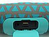 JBL Charge 3 mini A+ в стиле xtreme, портативная колонка с Bluetooth FM MP3, золото+мята, фото 4