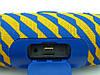 JBL Charge 3 Zap mini A+ в стиле xtreme, портативная колонка с Bluetooth FM MP3, желтая с синим, фото 4