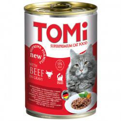 Влажный корм TOMi beef ГОВЯДИНА для котов, 400 гр