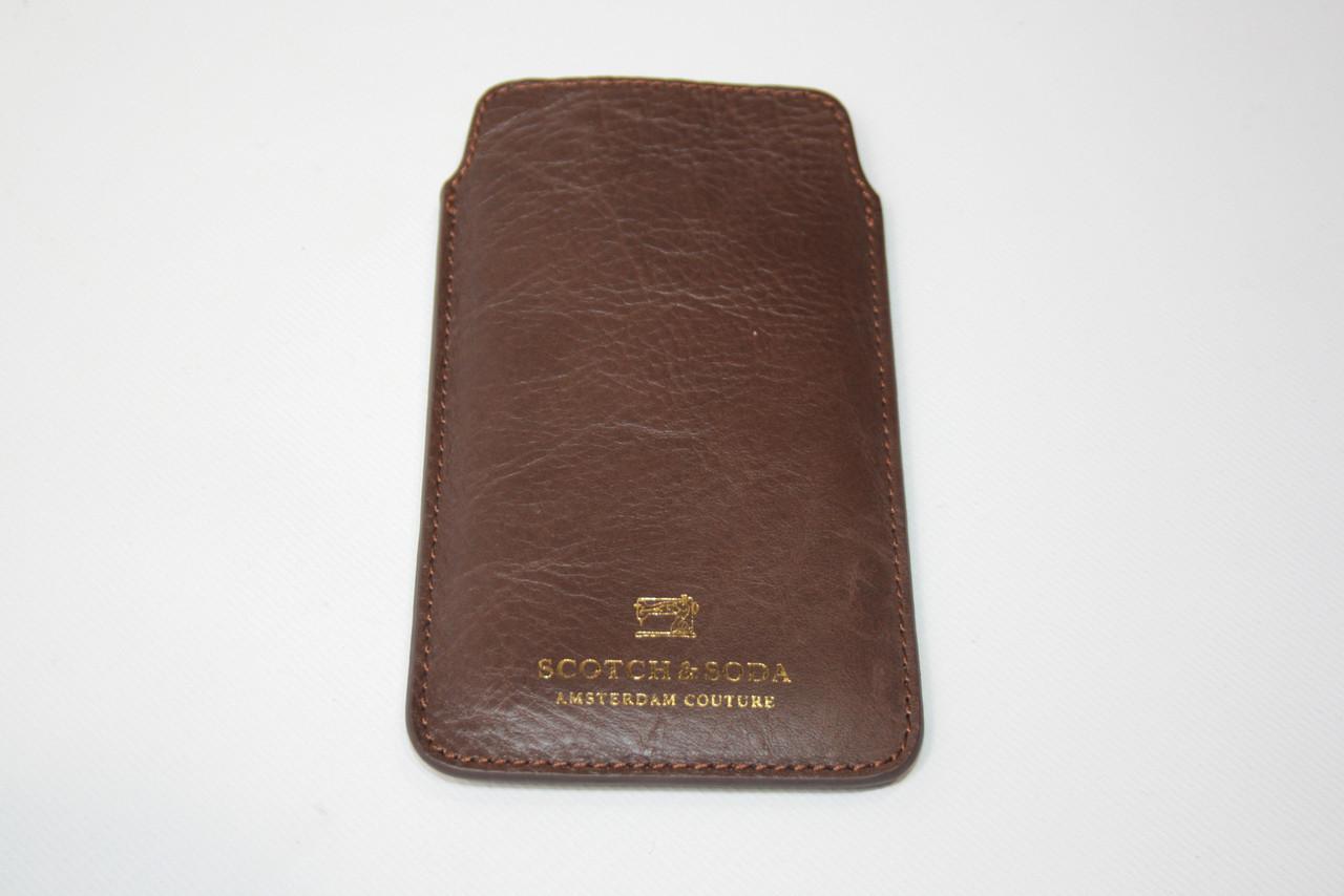 Чехол мужской Scotch & Soda цвет коричневый размер - арт 1504-07.77151