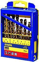 Набор свёрл HSS PRO TITANIUM CASSETTE 19 PCS IRWIN 10502603 (США)