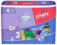 Підгузки Bella Baby Happy Midi 3 (5-9 кг) - 32 шт.