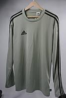 Лонгслив Adidas цвет светло-серый размер M арт CZ3994