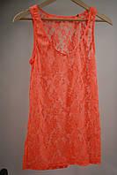 Майка женская Maison Scotch цвет оранжево-персиковая размер L XL М арт 1321-03.51753