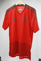 Футболка мужская Adidas цвет красно-серый размер M арт CW7261