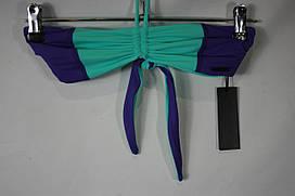 Лиф для купальника женский DIESEL цвет бирюзово-фиолетовый размер 1 арт 00SPCF0AAMP02