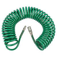 Шланг спиральный полиуретановый (PU) 10 м 6.5×10 мм Refine 7012171