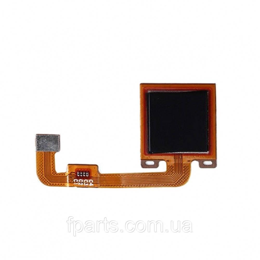 Шлейф Xiaomi Redmi Note 4X кнопки HOME (Black)