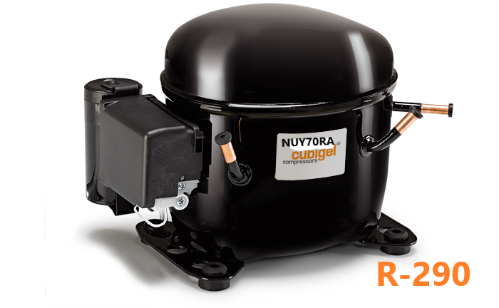 Компрессор герметичный Cubigel (ACC) NUY70RA R-290