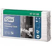 Нетканый материал в салфетках Tork . Прочный и терма устойчивый 473168