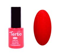 Гель-лак Tertio Красный с розовым микроблеском №088 10 мл