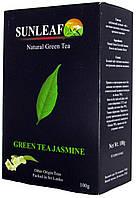 Чай зеленый SunLeaf с Жасмином 100г
