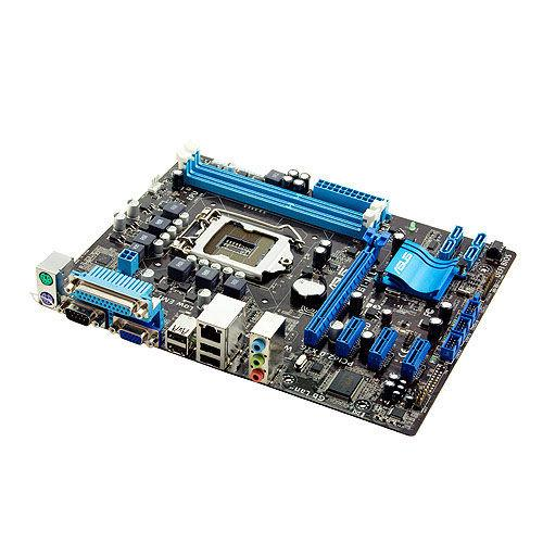 "Материнская плата ASUS P8H61-M LX Socket 1155 DDR3 H61  ""Over-Stock"" Б\У"