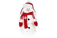 Мягкая новогодняя игрушка Снеговик 48см